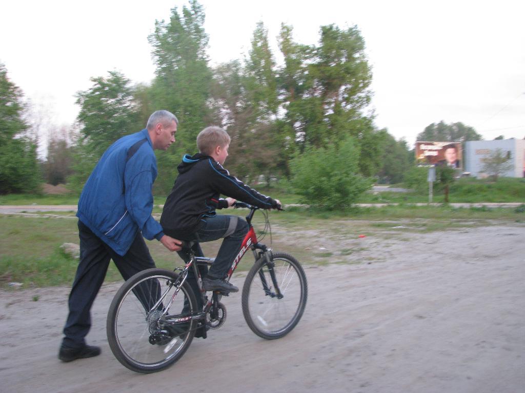 велик+я=любовь навек. Укрощение велосипеда