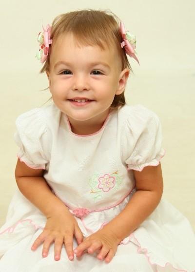 Моя принцесса Сашенька! (2 года). Малыш на обложку