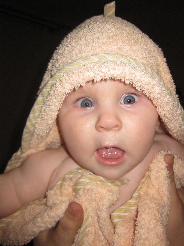 Да здравствует мыло душистое и полотенце пушистое!. Малыш на обложку