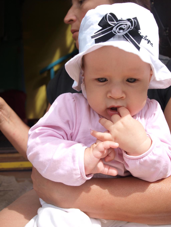 маленькая леди!. Малыш на обложку
