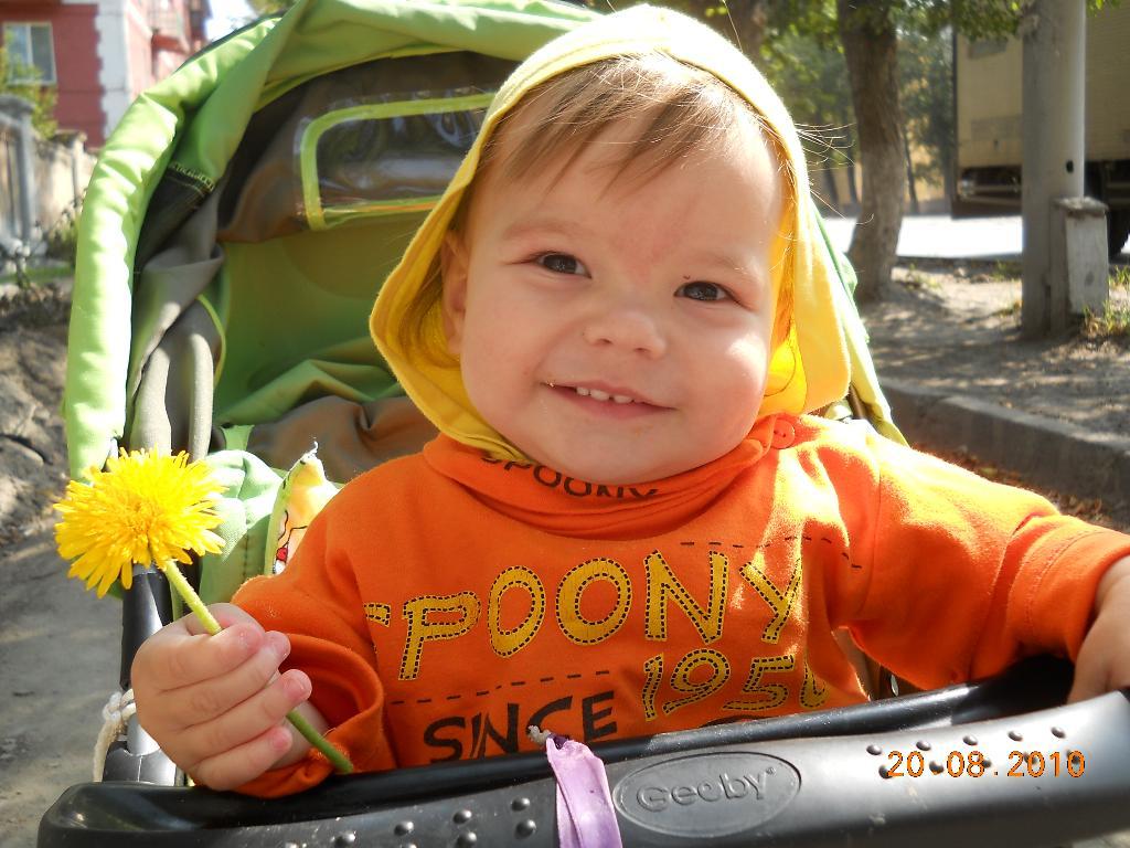 Любимое солнышко. Малыш на обложку