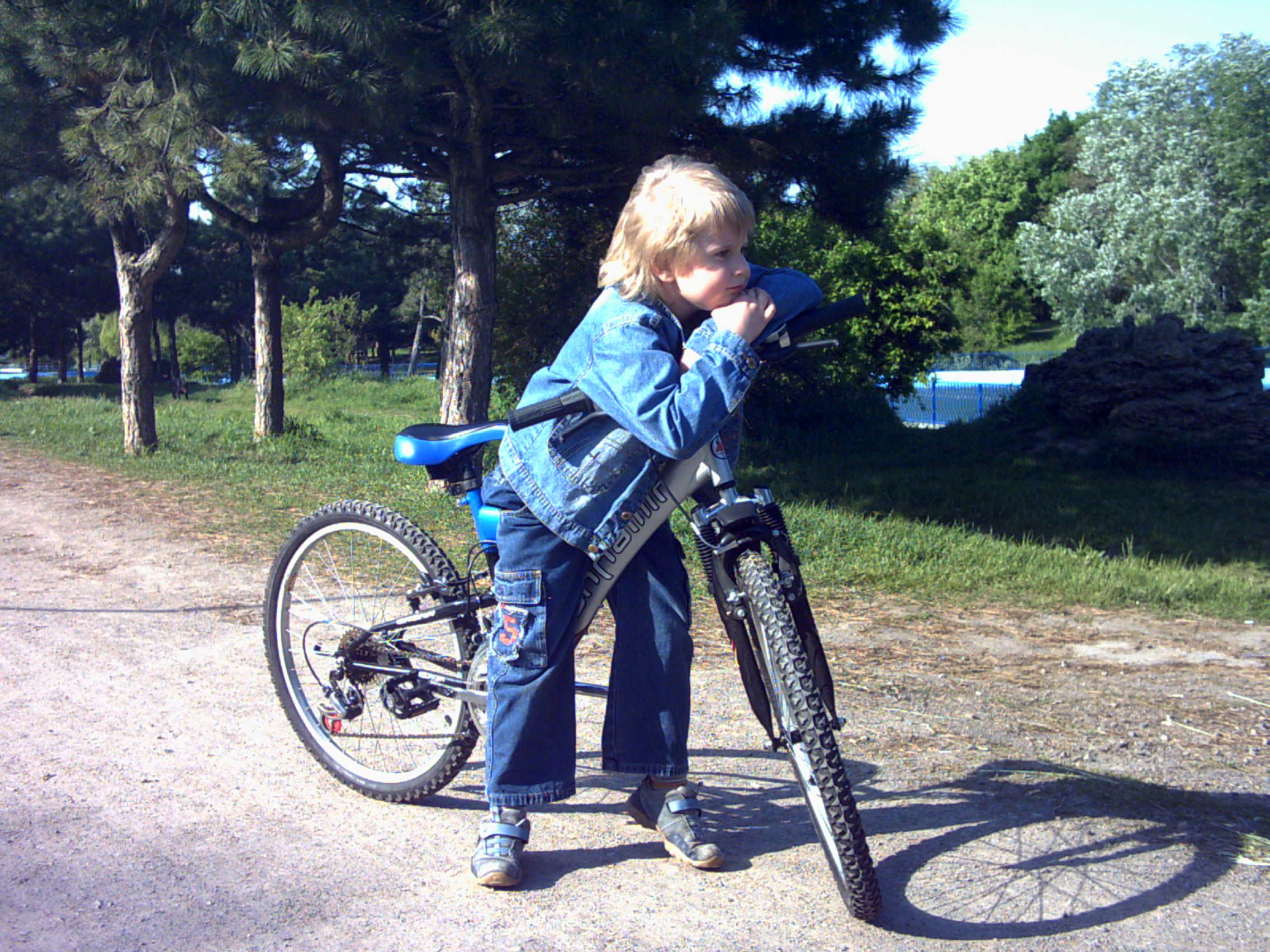 мой верный конь,мой конь железный.... Укрощение велосипеда