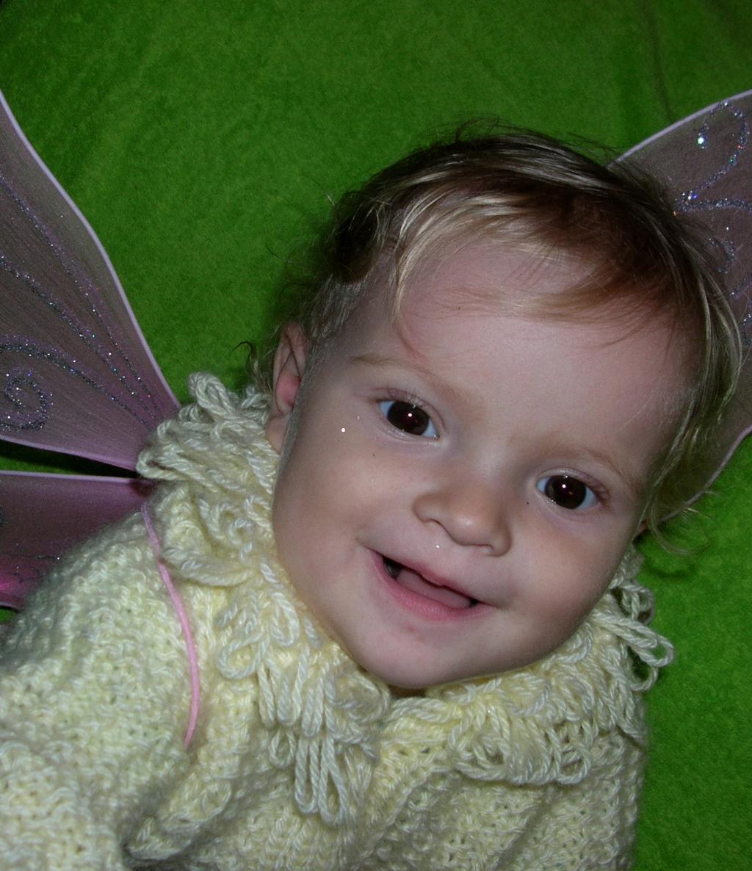 Маленькая фея. Малыш на обложку