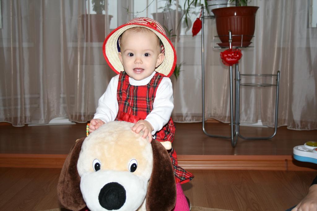 Маленькая моделька :-). Малыш на обложку