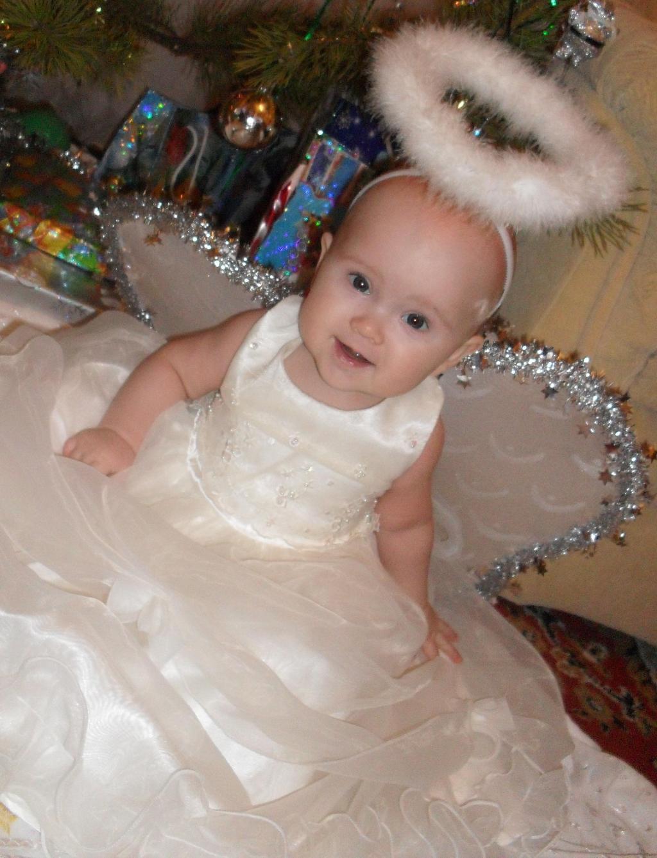 Ангелок. Малыш на обложку