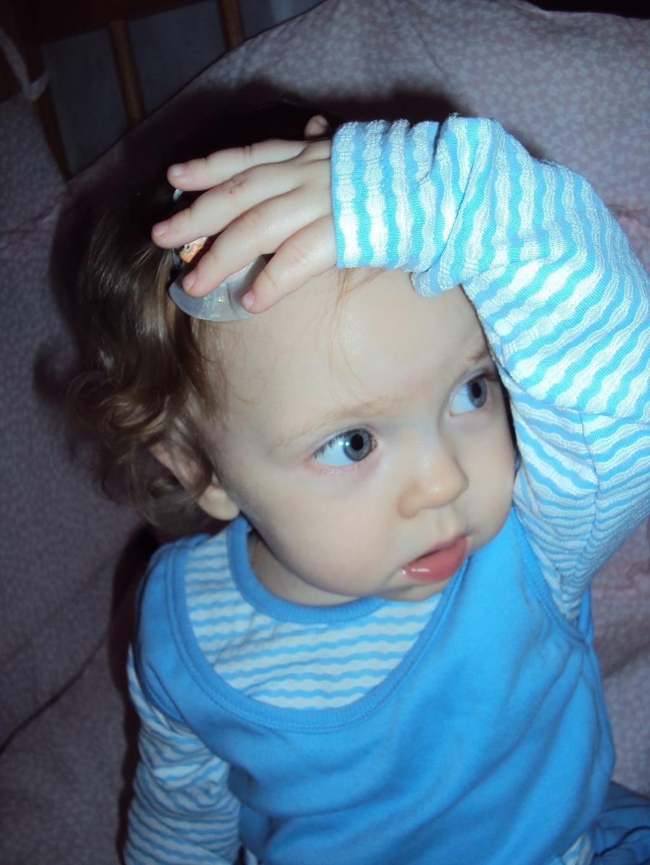 Моя задумчевая малышка!. Малыш на обложку