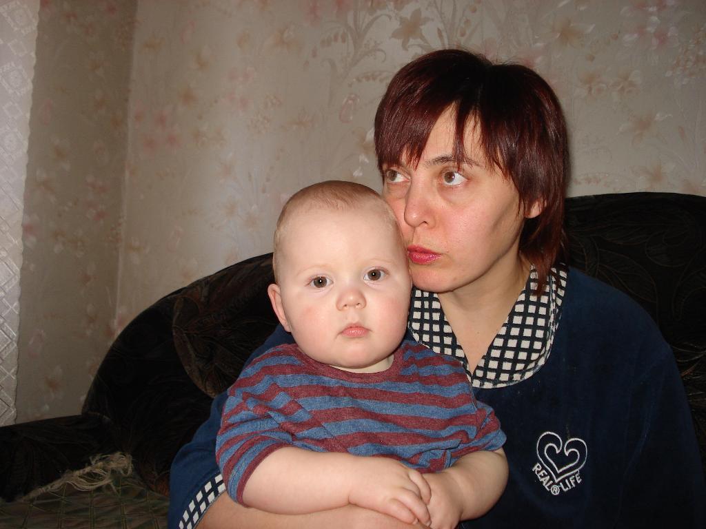 Егорка . Мадонна с младенцем