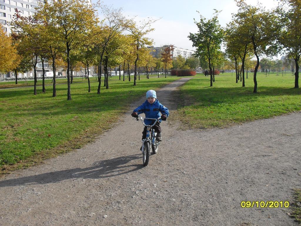 Осенний велопробег!!!!. Укрощение велосипеда
