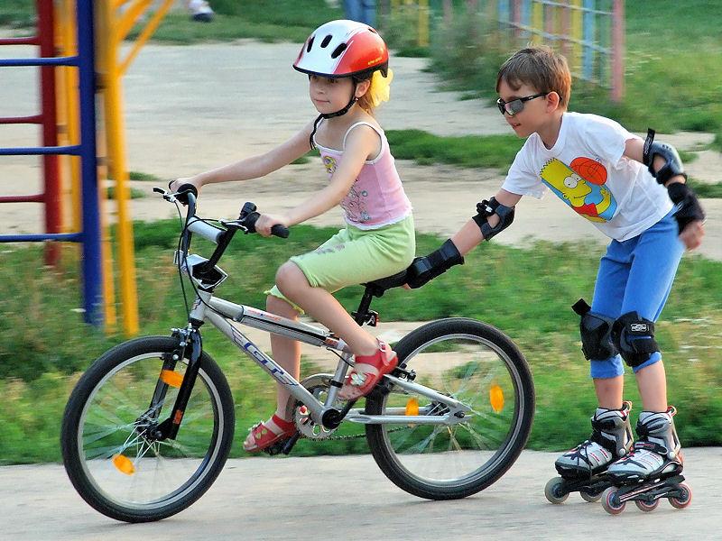 Покатушки. Укрощение велосипеда
