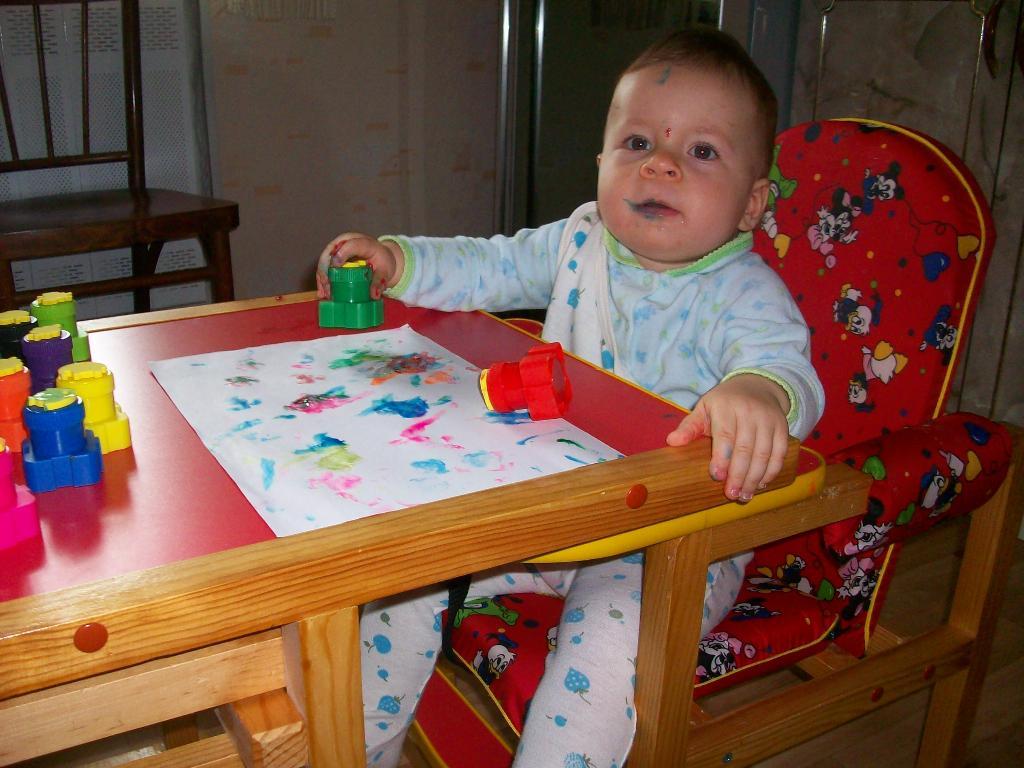 Настоящий художник!. Я рисую
