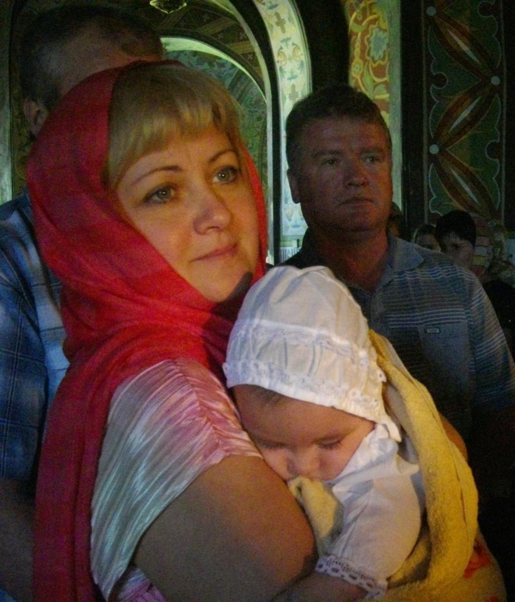Крёстная мама. Мадонна с младенцем
