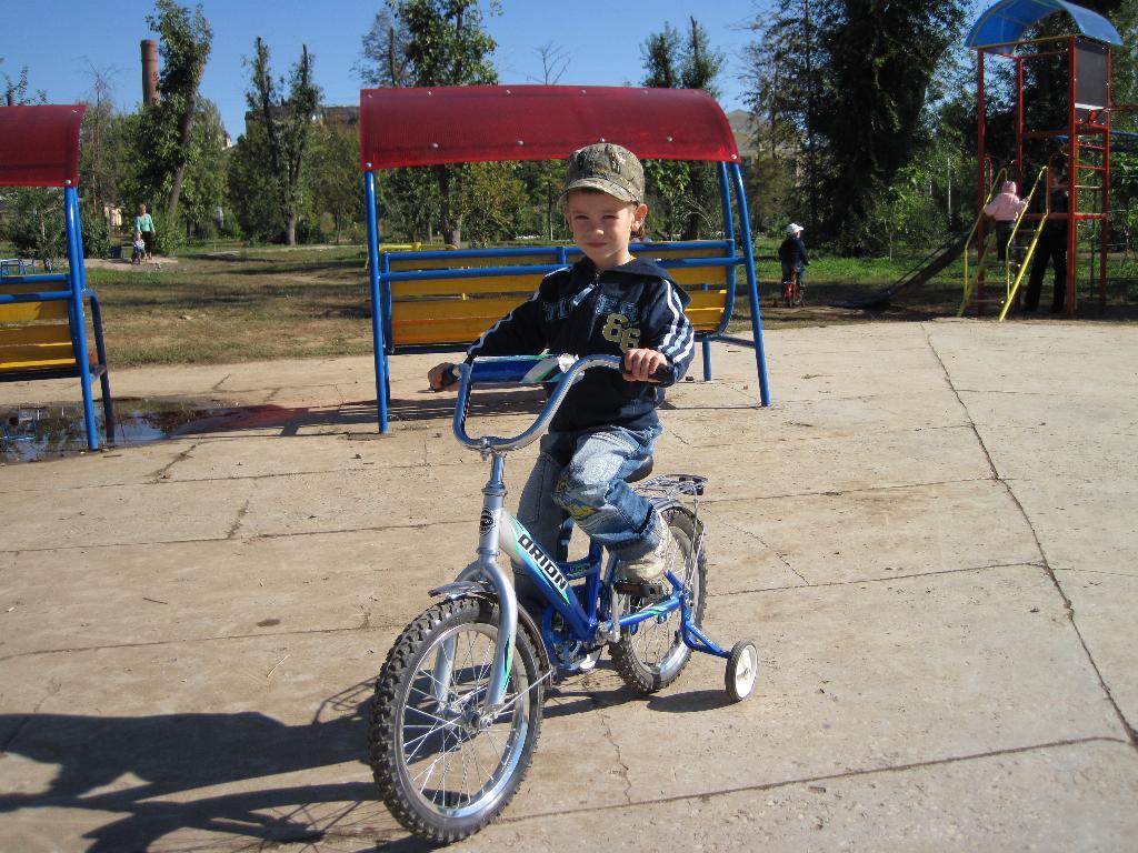 Мой друг  - велосипед. Укрощение велосипеда