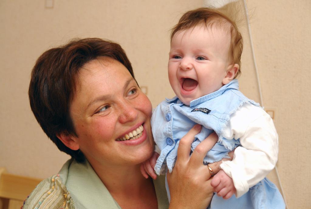 Радость. Мадонна с младенцем
