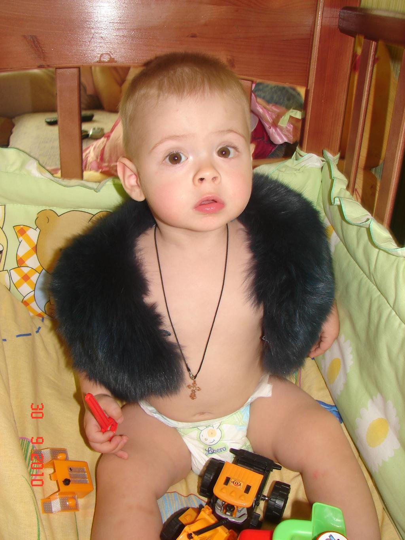Вот я какой)))). Малыш на обложку