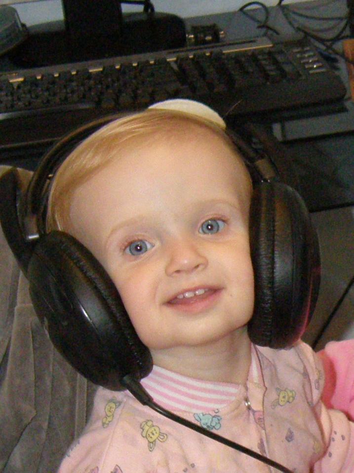 Музыка-  мое маленькое увлечение. Малыш на обложку