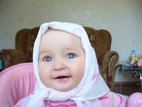 Алина. Малыш на обложку