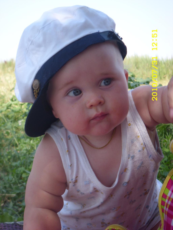 Мой моряк. Малыш на обложку