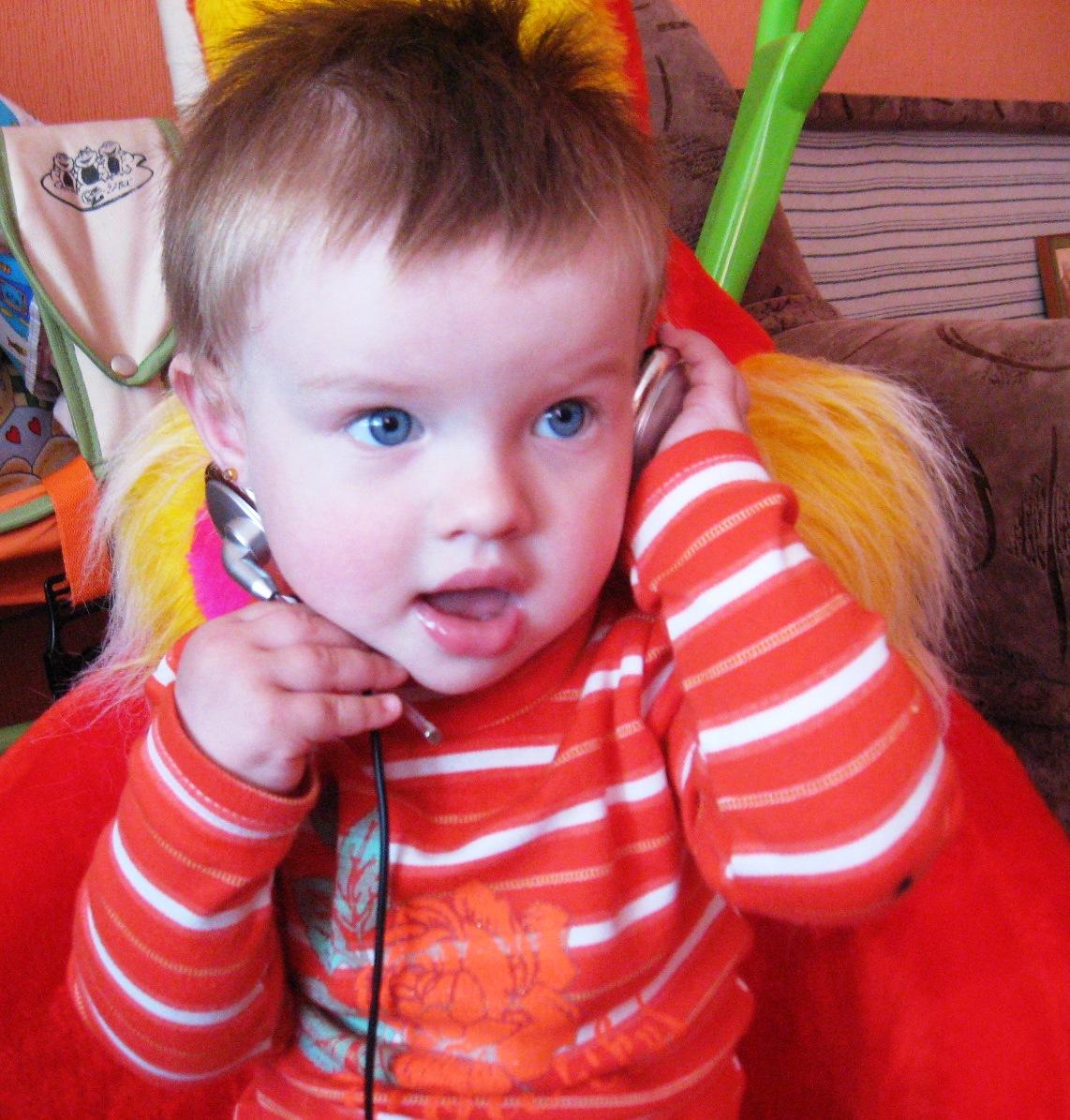 Александра, 1 год. Малыш на обложку