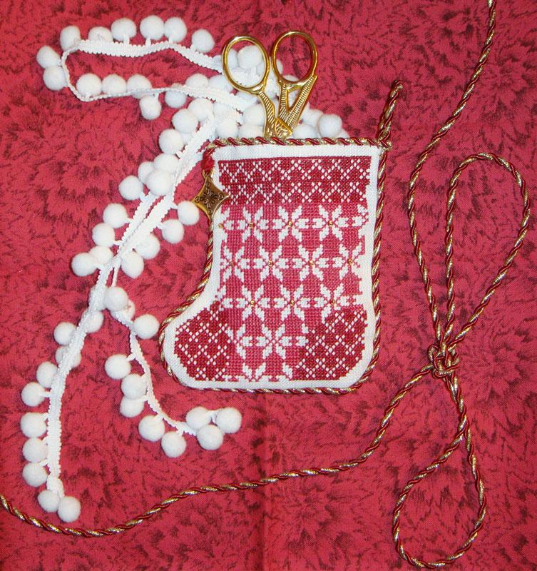 7 - Енечка для ~Голубка~. 2010 'Новогодний мешок'