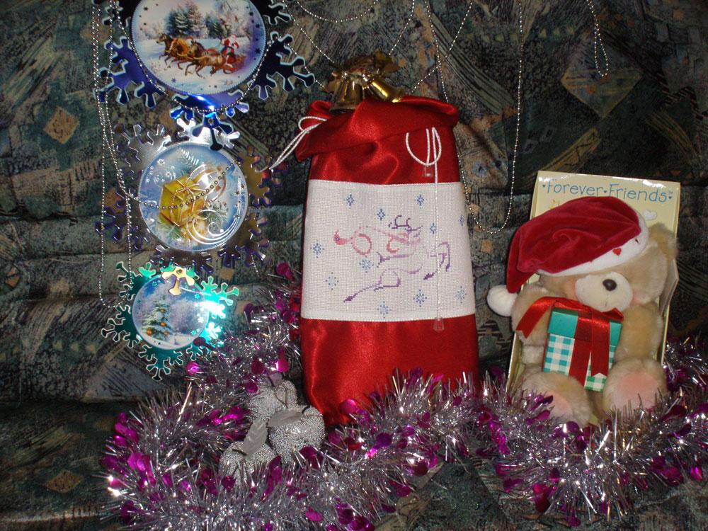 20 - Лена77 для Маркуши. 2010 'Новогодний мешок'