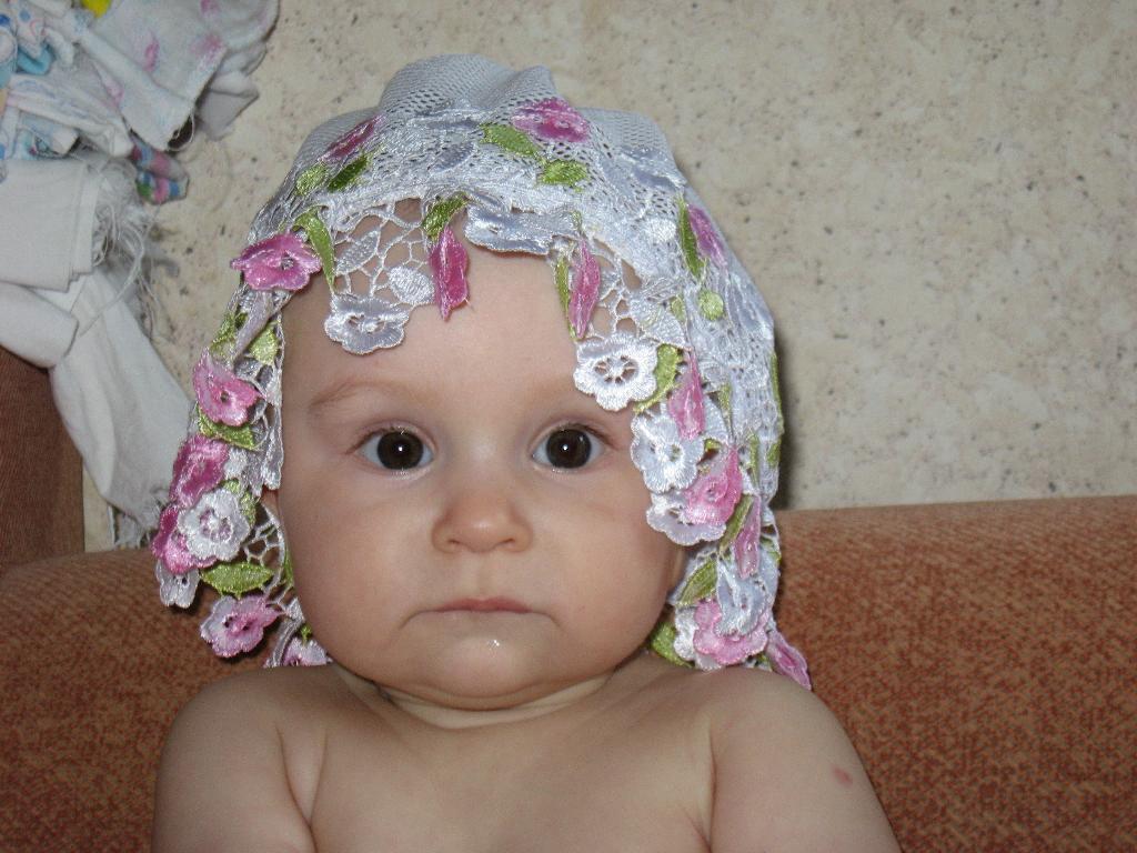 моя любимая шляпка. Малыш на обложку