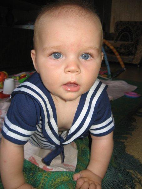 Мое голубоглазое счастье!!!. Малыш на обложку