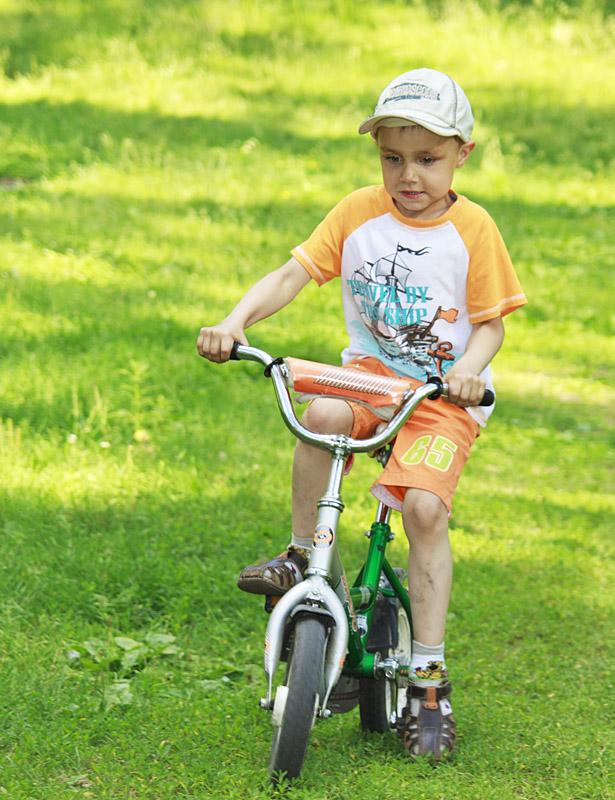 Любимый транспорт. Укрощение велосипеда