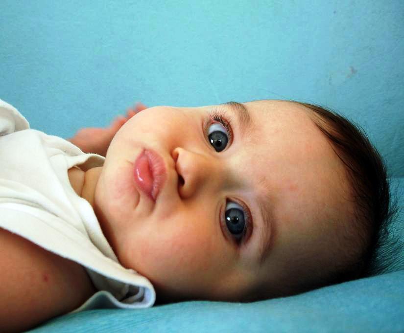 Племяшка :). Малыш на обложку