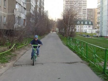 Очередное препятствие. Укрощение велосипеда