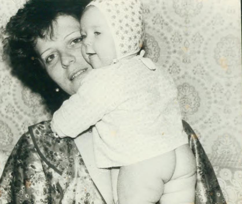 Доченька. Мадонна с младенцем