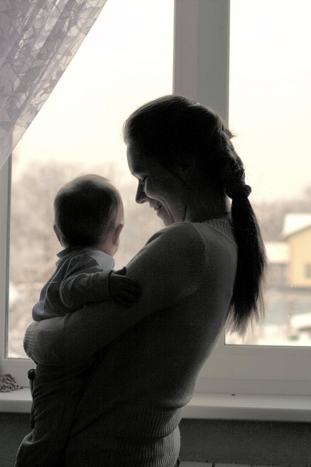 мой ангелочек))). Закрытое голосование фотоконкурса 'Мадонна с младенцем'