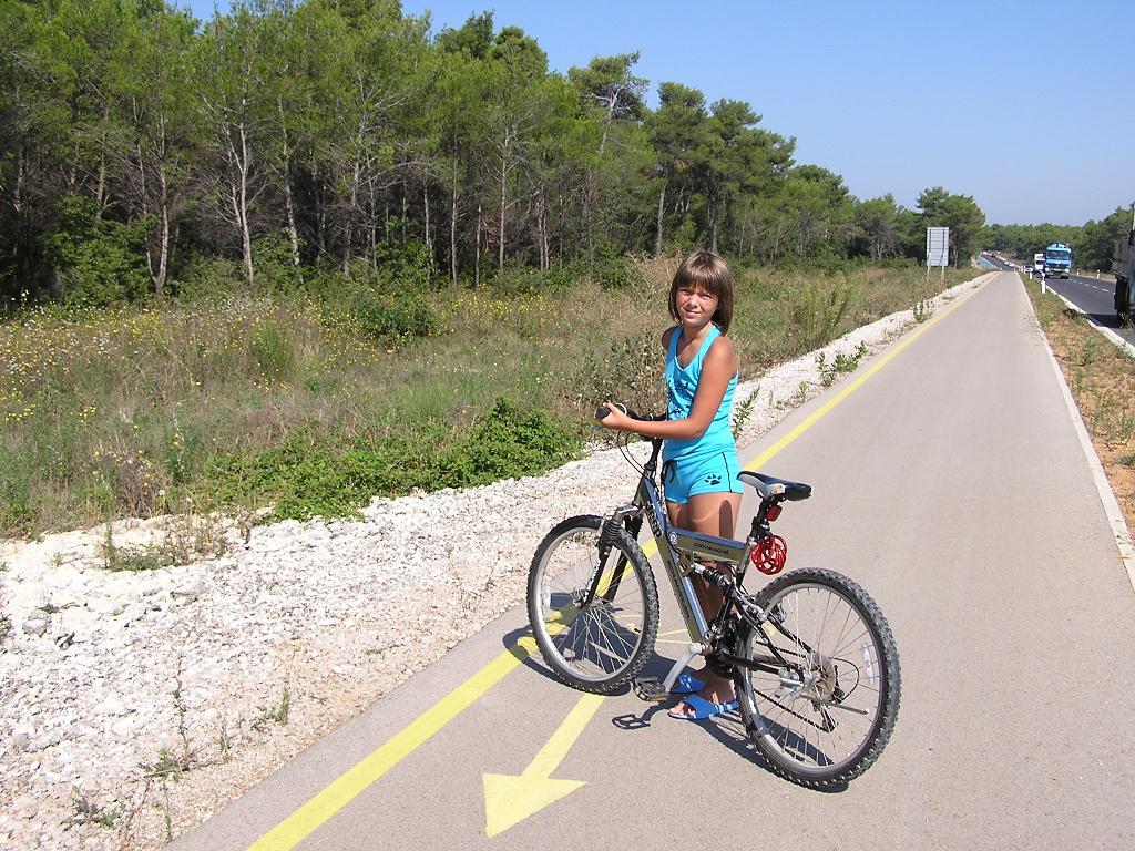 По дороге в Нин. Укрощение велосипеда
