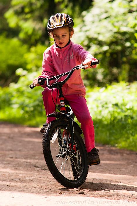 Сложный поворот. Укрощение велосипеда