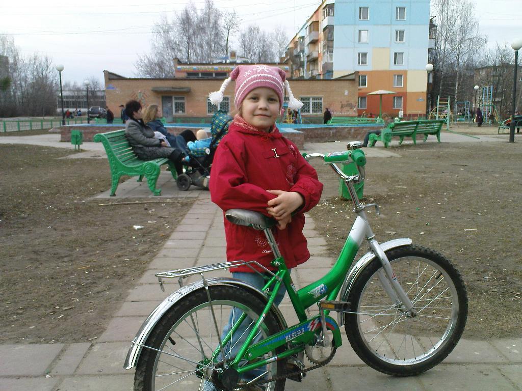 Я обожаю свой велосипед. Укрощение велосипеда