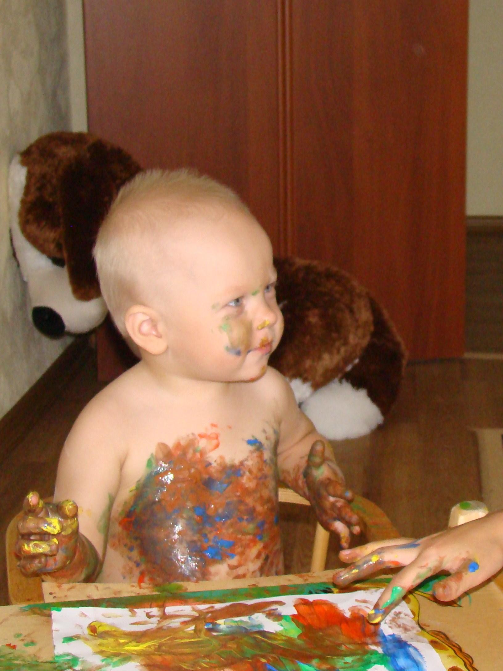Я буду!Буду! Шоколадным зайцем!. Я рисую