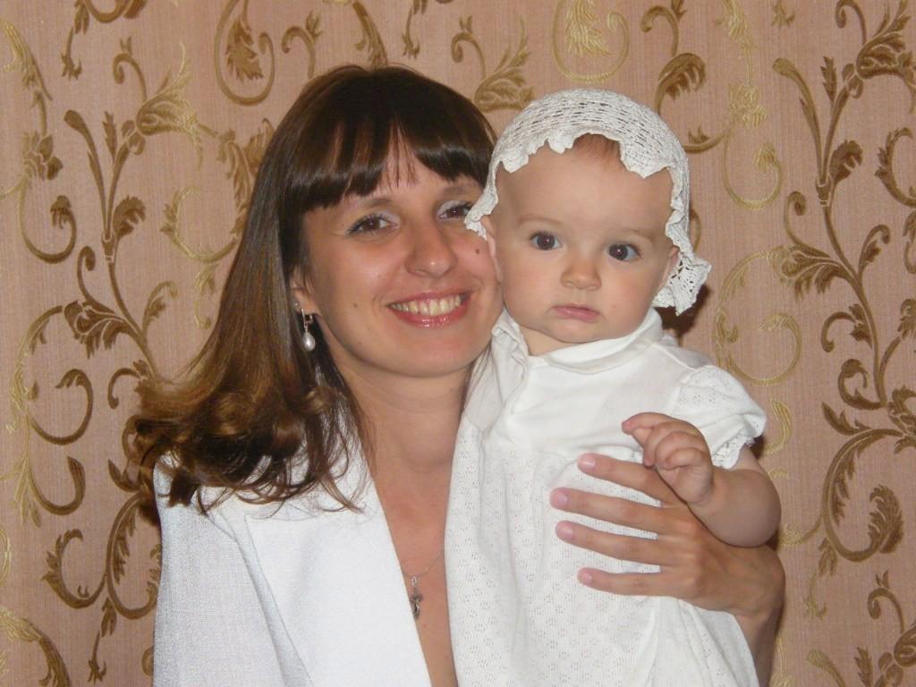 Мой ангелок. Мадонна с младенцем