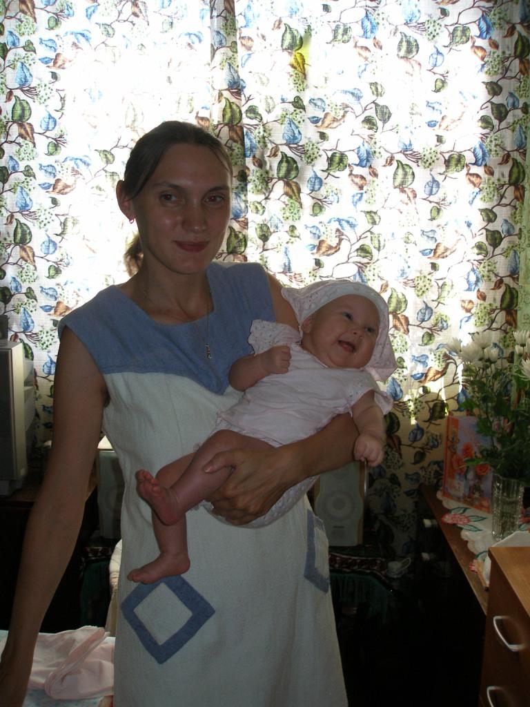 Моя доченька! . Мадонна с младенцем