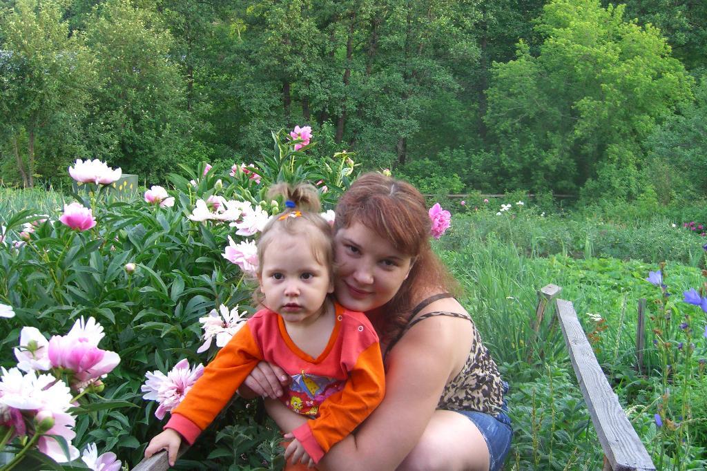 Кнопочки. Мадонна с младенцем
