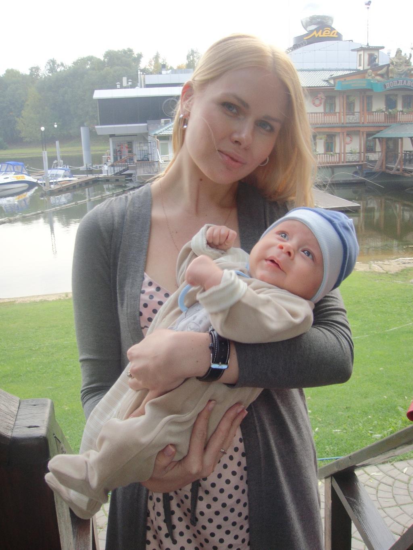 My life. Мадонна с младенцем