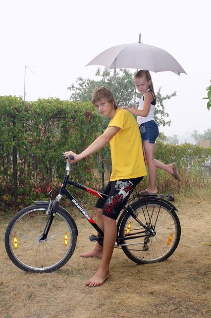 Нам жара не беда!. Укрощение велосипеда