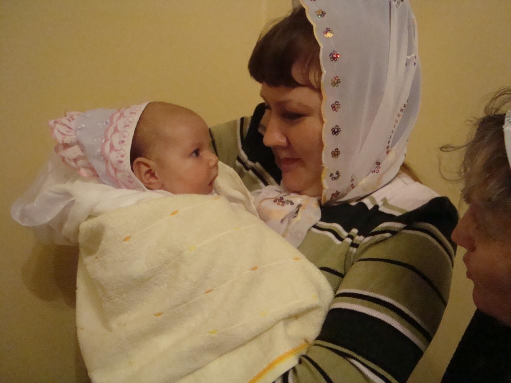 моя крестная мама. Мадонна с младенцем