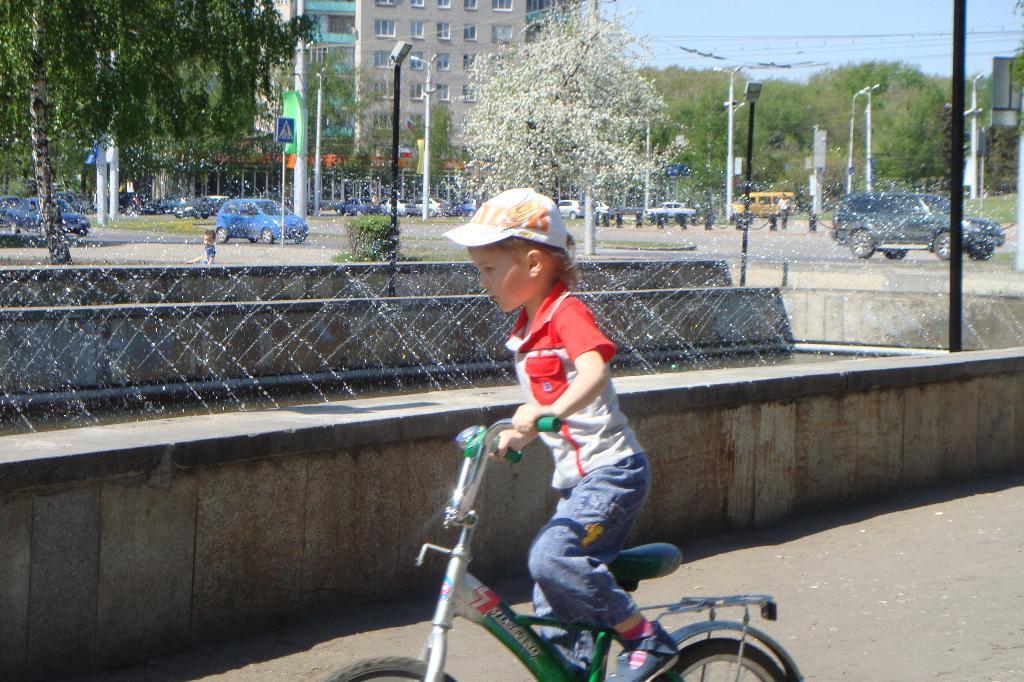 нажимаю на педаль и машина мчится вдаль!. Укрощение велосипеда