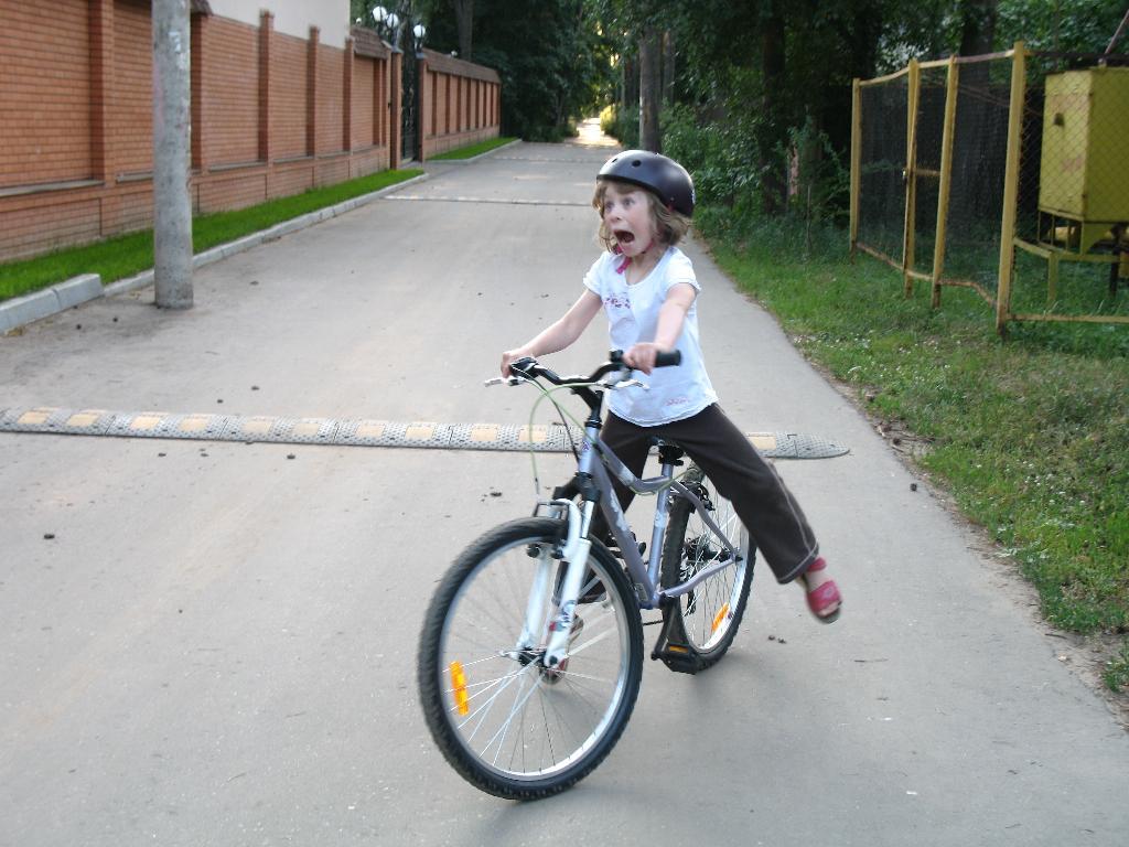 Маруся, вперёд!. Закрытое голосование фотоконкурса 'Укрощение велосипеда'