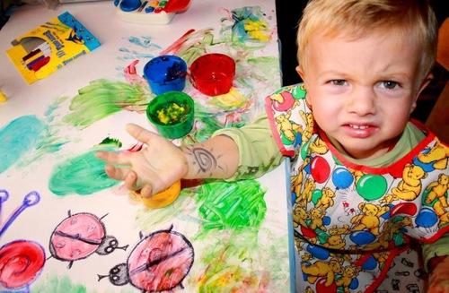 Это моя рука, а не холст!!!. Закрытое голосование фотоконкурса 'Я рисую'