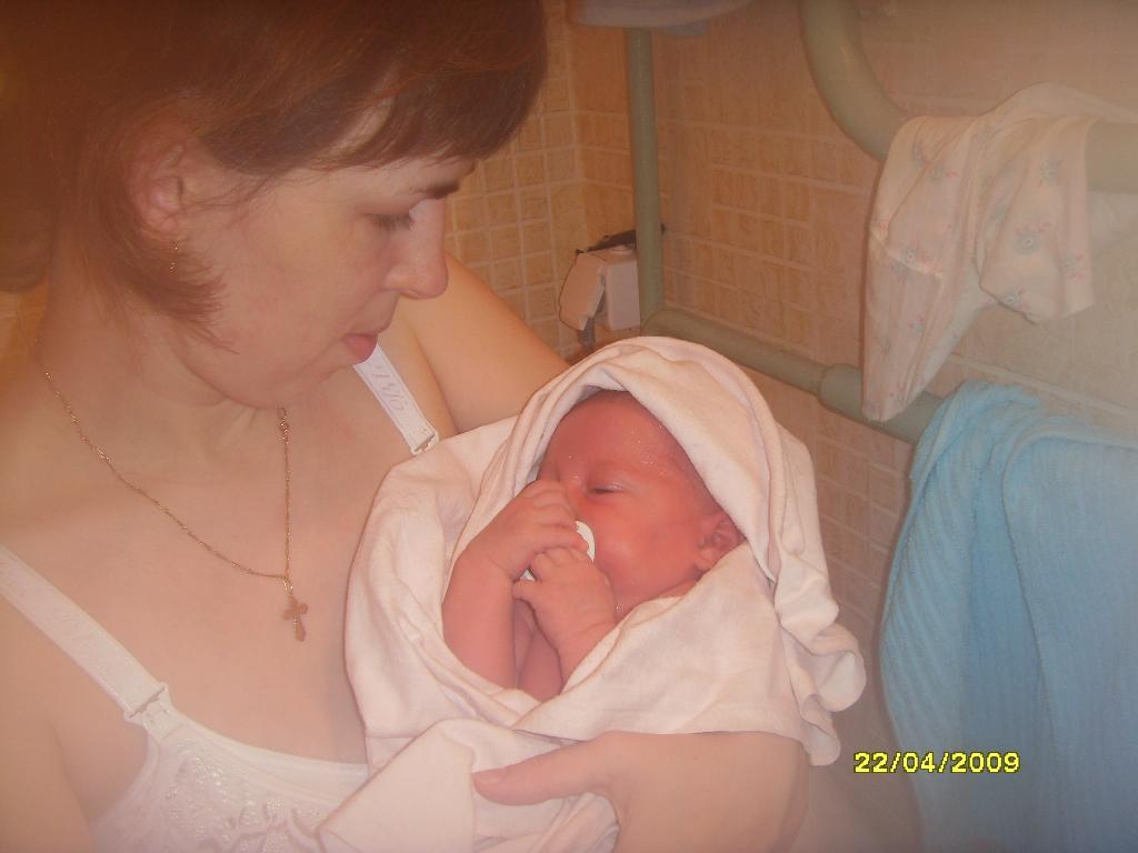 Любовь на всю жизнь.... Мадонна с младенцем