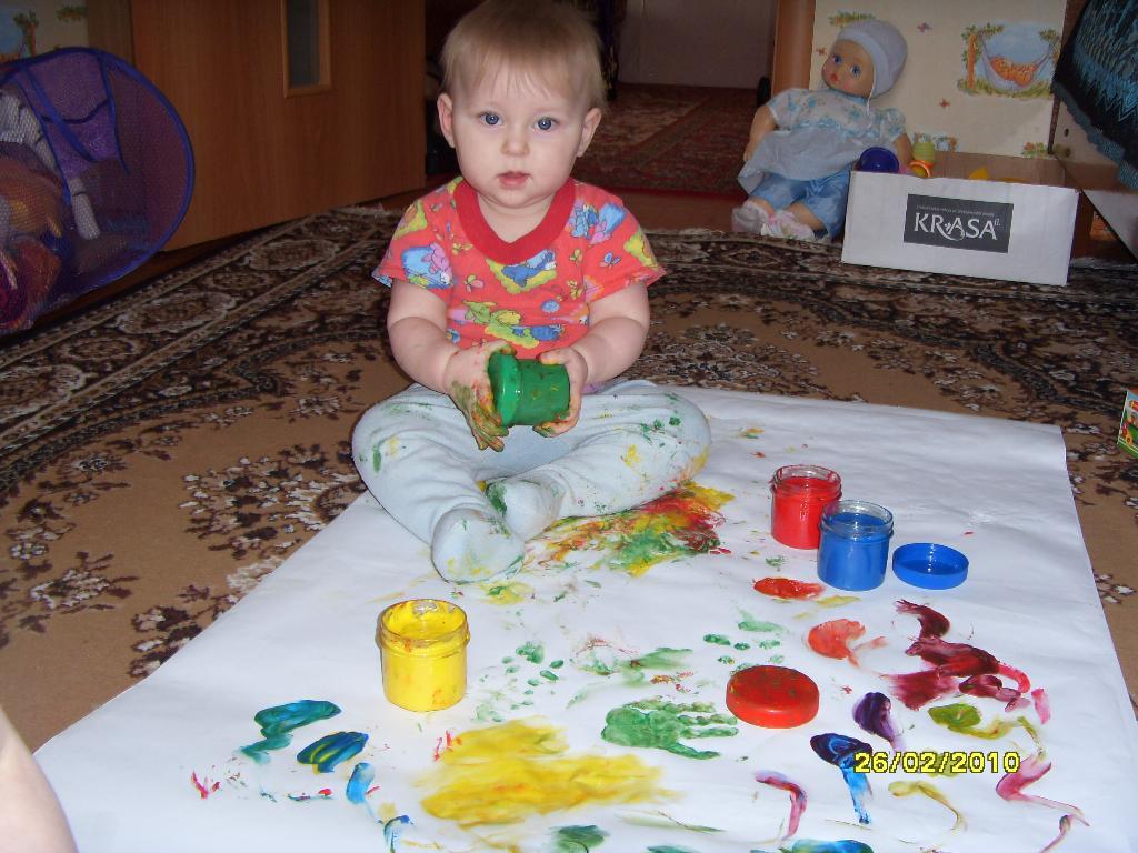 Юный талант!. Я рисую
