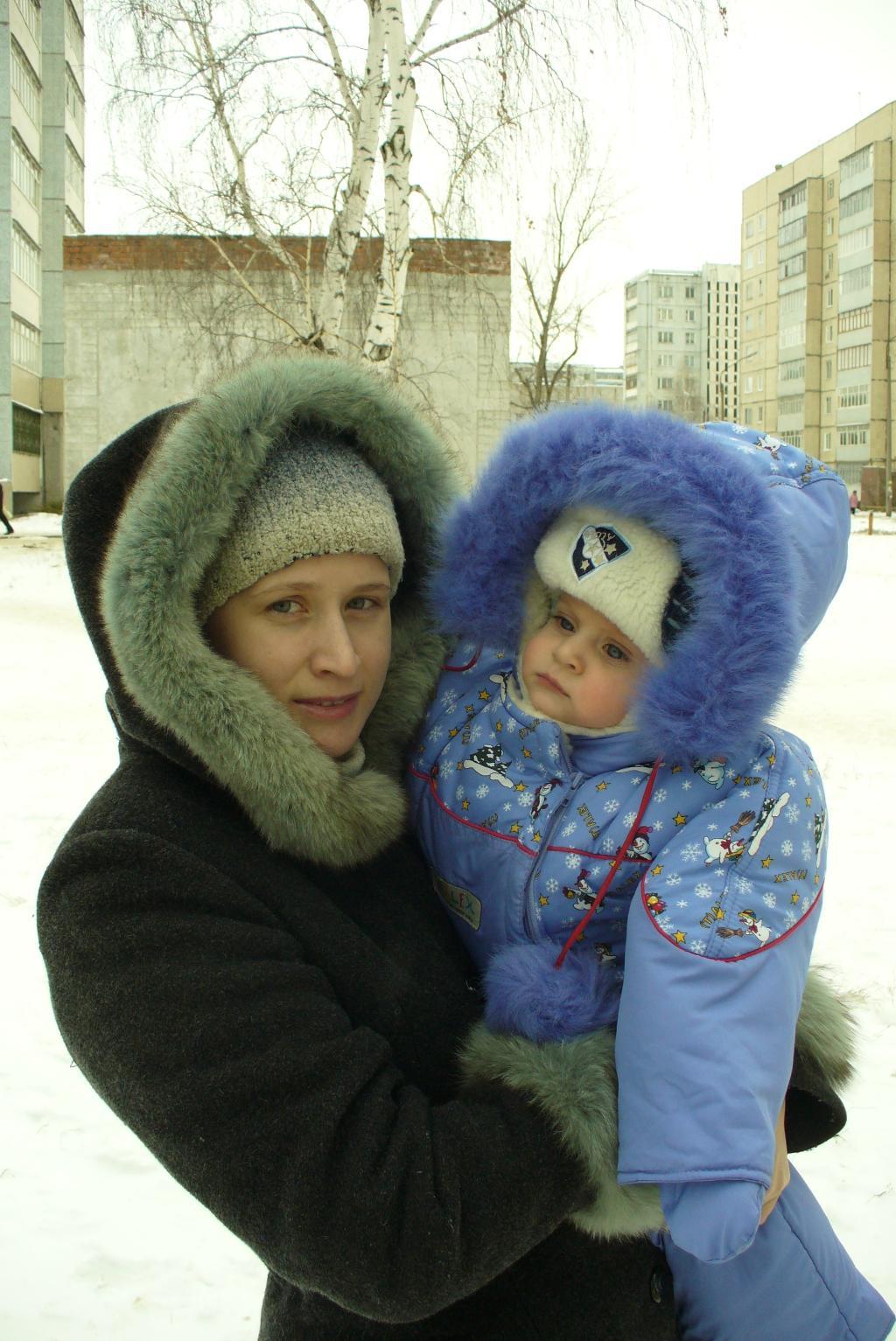 Кусочек тепла!!!. Мадонна с младенцем