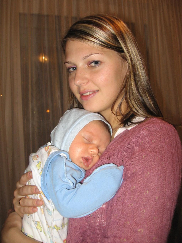 самый любимый человечек в мире!. Мадонна с младенцем