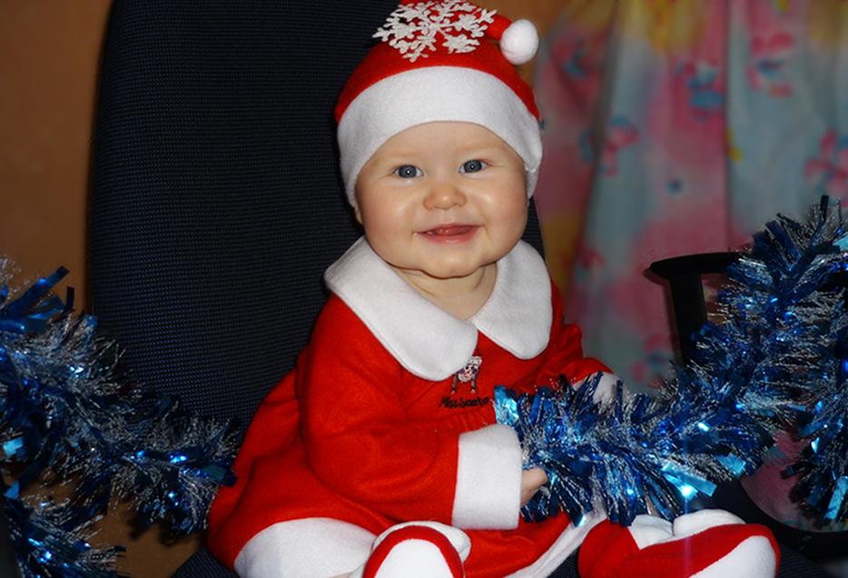 И Деды Морозы бывают маленькими!. Малыш на обложку