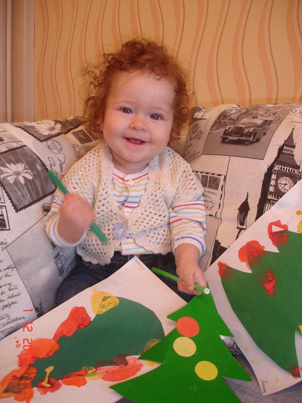Нарисовала...Что бы такое написать деду Морозу!???. Закрытое голосование фотоконкурса    'Пишу письмо Деду Морозу'